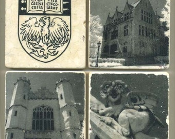 University of Chicago Collection - 4 original coasters