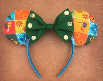 Ready-To-Ship - Gran Fiesta Tour Mexico Pavilion Minnie Mouse Ears
