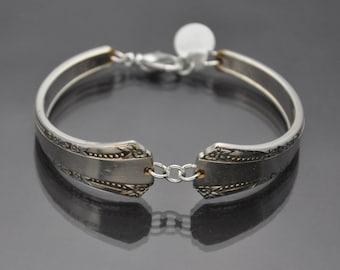 Bracelet made from Vintage Silverware with Pattern by Oneida Ltd.