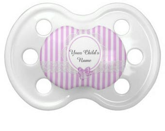 Personalized Lavender Pacifier