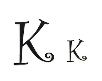 Iron on monogram letters iron on applique fonts applique iron on individual letters diy kit fabric applique design diy personalized gift curly applique fonts diy sewing crafts spiritdancerdesigns Gallery