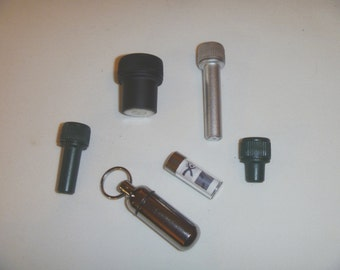 Micro Madness 6 Pack Geocache Containers