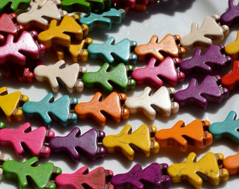 Colorful Magnesite Turquoise Children Beads  FULL STRAND