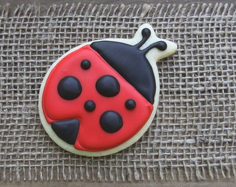 Ladybug Cookies / Ladybug Party / Ladybug Birthday / Summer Party / Ladybug First Birthday / Ladybug / Ladybug Decorations / Ladybug Favor