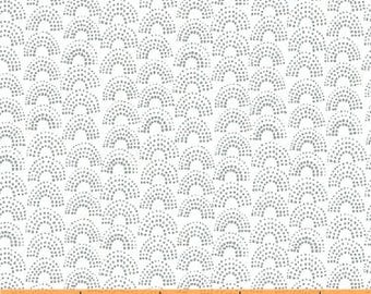 Lemmikki by Lotta Jansdotter for Windham Fabrics - 43094-6 - Pewter - 1/2 Yard Cotton Quilt Fabric