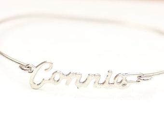 Vintage Name Bracelet - Connie