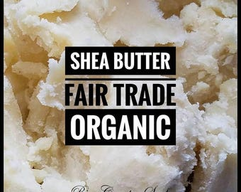 Organic Shea Butter Unrefined African Grade A Premium Ivory 1/4 1 1/2 lb lbs 4 8 16 24 oz Tan Color Natural Moisturizer DIY Body Butters