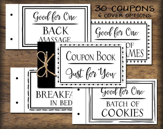 Gift coupon ideas for girlfriend