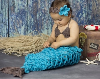 Crochet Mermaid Tail, Newborn Mermaid, Mermaid Costume, Infant Mermaid Tail, Toddler Mermaid Costume, Baby Mermaid Tail, Mermaid Photo Prop