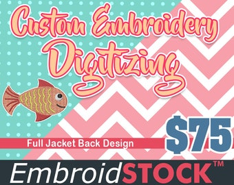 Custom Machine Embroidery Design