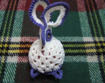 Easter bunny amigurumi, Stuffed doll, Home and nursery decoration, Gift for kids Easter day
