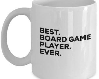 Best Board Game Player Ever, Board Game Player Coffee Mug, Board Game Player Mugs, Birthday Gift, Christmas Present