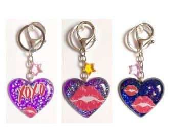 Love Lips XOXO Keychains