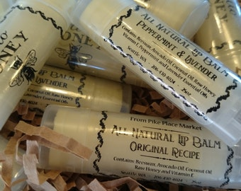 Peppermint and Lavender- Hello Honey All Natural Lip Balm