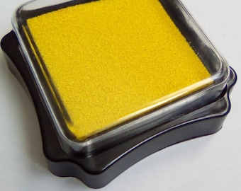 Box ink sponge for yellow 60x60mm stamp