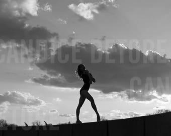 Dance Print - 'Sunset'