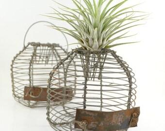 15% OFF Vintage Wire Trap, Rare Mouse Trap, Wire Mesh Cage, Primitive Trap, Unique Mouse Trap, Antique Dome Shaped Trap, Live-capture Trap