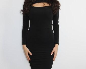 Get Me Bodied Bodycon Midi Dress