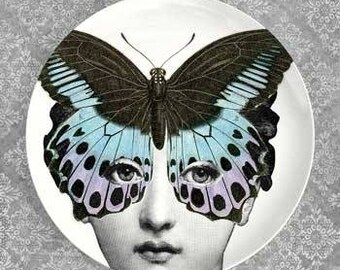 Butterfly I Cavalieri plate