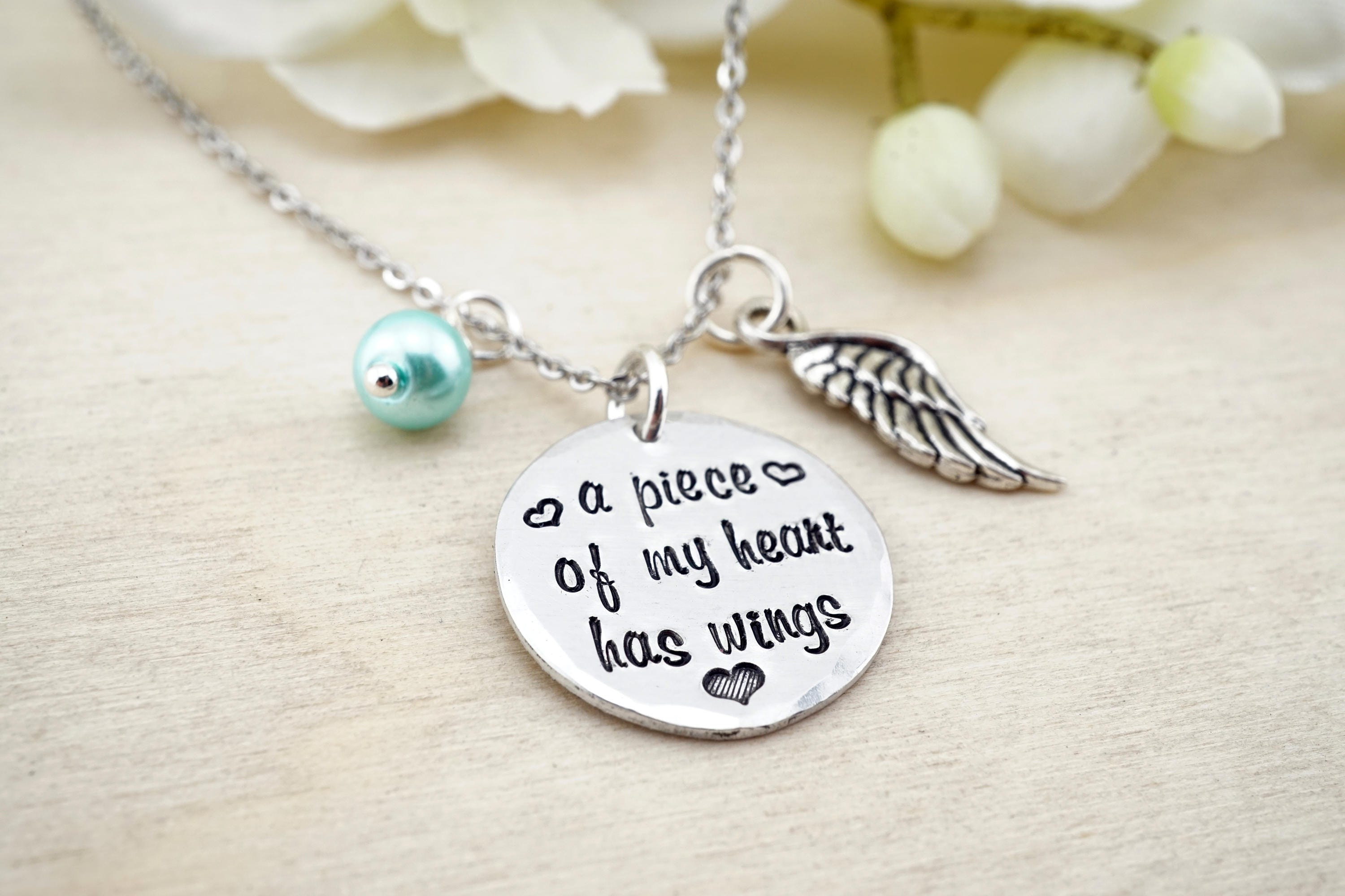 writing silver your size large ones loved oval actual pendant jewelry pin chain necklace with memorial