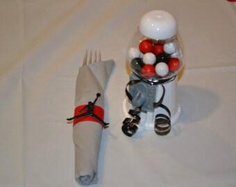 Airman Inspired Napkin Rings (Set of 20)