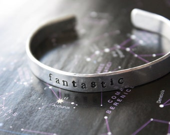 Fantastic! Ninth Doctor - Doctor Who Inspired Cuff Bracelet