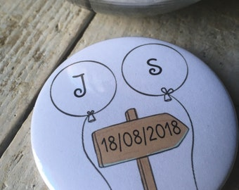 "Badges ""guest gift"" wedding"