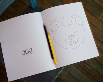 Sleepy Animals Coloring Book