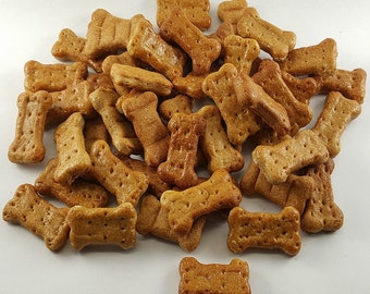 Peanut Butter Mini Bones Dog Treats 8 oz.