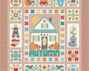 PREORDER YOUR KIT! Autumn Love Quilt Kit by Lori Holt of Bee In My Bonnet - Ships July! - Sew Along Begins August 20th