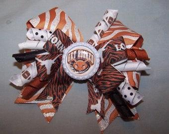 University of Texas Longhorns Hair Bow