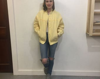 90's VINTAGE YELLOW JACKET Size M