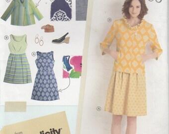 Dress Pattern Jacket Misses Size 6 - 8 - 10 - 12 - 14 Uncut Simplicity 2209 lisette