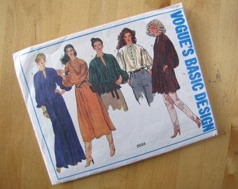 Vintage Vogue  2033 - Vogue's Basic Design  - Size 8