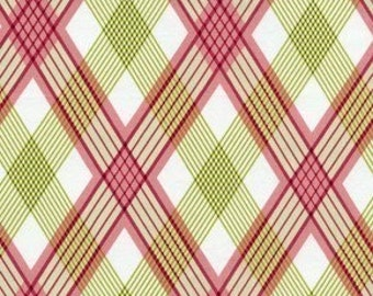 Picnic Plaid in Berry Modern Meadow Fabric by Joel Dewberry 1 yard