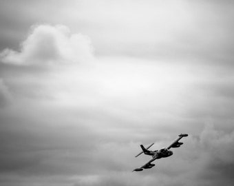 """Military Aircraft Fine Art Print, Dragonfly Photography, Cessna Dragonfly Wall Art, Fine Art Photography, """"A-37 Dragonfly"""""""