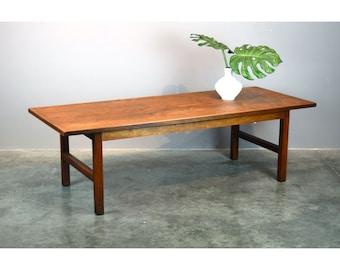 Founders Mid-Century Modernist Walnut Coffee Table