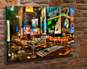 Extra Large Canvas Wall Art Print Picture New York City Street Scene