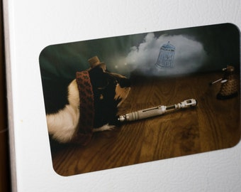 Fridge Magnet: Dr. Who Guinea Pig