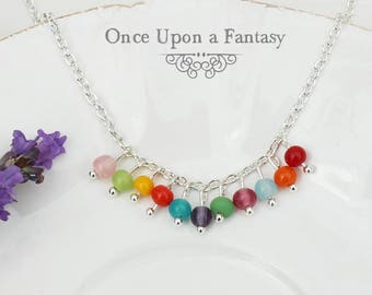 Necklace multicolor Pearl - Once Upon a Fantasy