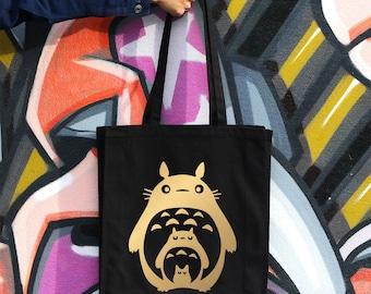 Studio Ghibli, Totoro, Anime Bag, Totoro Tote Bag, Handbag, Eco Friendly, Bags And Purses, Canvas Bag, Tote Bag Canvas
