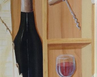 decorative painting trompe l'oeil unique