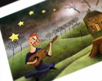 Serenade, 11x14 Limited Edition Print