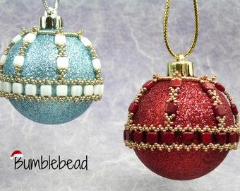 Sceptre Christmas Bauble Tutorial: A beadweaving pattern