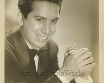 Carmen Cavallaro pianist antique music photo