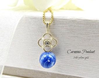 Remembrance Jewelry, Memorial Necklace, Bereavement, Cremation Pendant, Pet Memorial, Carmona Pendant
