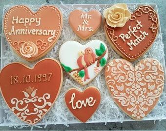 Anniversary gift / Anniversary cookies / Gift box