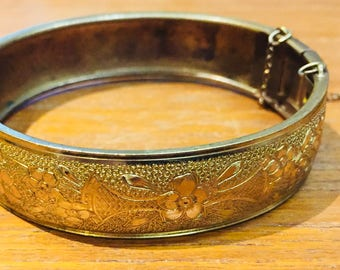 Victorian Bangle Bracelet BEAUTIFUL