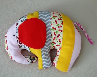 Plush fabric Luigi elephant / Elephant plush