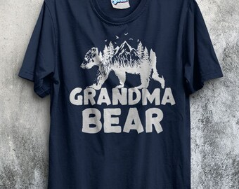 Grandma Bear T-Shirt New baby Maternity Announcement Expecting Pregnancy Reveal Womens Gift for Her mom to be mommy MOTHERS DAY Surprise